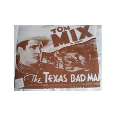 Sept. 25, 1933 - Tom Mix was heard on NBC Radio for the first time. His show ran until June of 1950. Prior to that he was a popular movie cowboy.