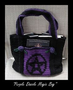 pagan crochet! Photo does not link to pattern, but I'm gonna try to find it.