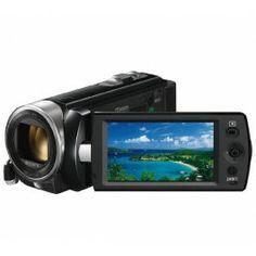 DCR-SX22E - Camcorder + SDHC Premium Series - Flash memory card - 16 GB - Class 10
