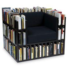 Estantes criativas para livros
