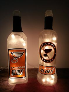 Check out this item in my Etsy shop https://www.etsy.com/listing/249656329/upcycled-lighted-liquor-and-wine-bottles