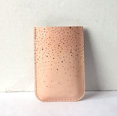 Constellation iPhone leather sleeve.