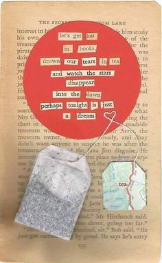 Book page poetry