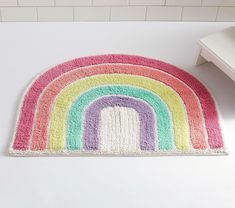 Find the perfect kids bath mat for their bathroom. Shop Pottery Barn Kids Canada for bath mats in fun prints and designs. Kid Bathroom Decor, Bath Decor, Girl Bathroom Ideas, Pastel Bathroom, Childrens Bathroom, Hall Bathroom, Bathroom Inspo, Bathroom Fixtures, Little Girl Bathrooms