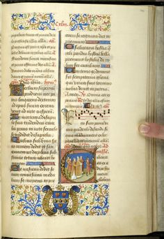 Pontifical matutinale and missal of Jean Coeur, G.49 fol. 148r - Images from Medieval and Renaissance Manuscripts - The Morgan Library & Museum
