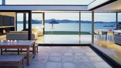 Oruawharo, Great Barrier Island, Fearon Hay New Zealand Architecture, Interior Architecture, Residential Architecture, Amazing Architecture, Interior Design, Outdoor Living Rooms, Outdoor Spaces, Porches, Sweet Home
