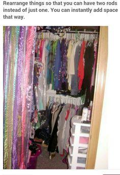 Closet Makeovers Series Part Closet Organization