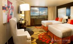 Newly remodeled Summit rooms at Grand Sierra in Reno, Nevada http://gsr.ms/a/BookaRoom/