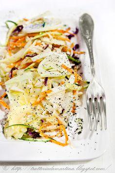 L'insalata di pollo del riciclo - Trattoria da Martina - cucina tradizionale, regionale ed etnica