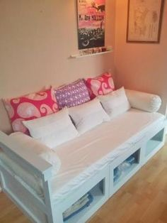 diy daybed with storage | Storage Daybed | Do It Yourself Home Projects from Ana White by audrey