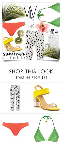 """summer brights"" by rehannah-o ❤ liked on Polyvore featuring ALDO, Oasis, Lazul, Summer, fashionset, topset and summerbrights"
