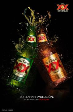 Dos Equis new image mexico campaing by Jorge Lopez, via Behance