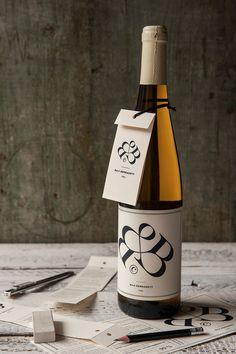 Bernadett Baji's wine label and creative CV design by kissmiklos. Kissmiklos, a talented Budapest, Hungary based graphic designer and visual artist has