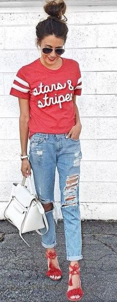 #summer #outfits #inspiration | 4th Of July Outfit Idea