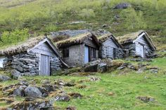 "Vernacular architecture: ""I was driving through a remote valley in Norway and came across these nine old milkmaid huts clustered on a mountainside. They were extraordinary and caught my attention right away. When I travel in general, I try to look at the seemingly 'undesigned' structures that are everywhere. Sheds, barns, storage buildings, dwellings, warehouses — these can demonstrate so much about the character and climate of a place because they're usually reduced to their most essential…"