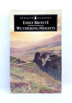 Wuthering Heights by Emily Bronte Penguin Classics good used condition paperback Penguin Clothbound Classics, Penguin Classics, English Library, Emily Bronte, Wuthering Heights, Classic Literature, Penguin Books, Pride And Prejudice, Penguins