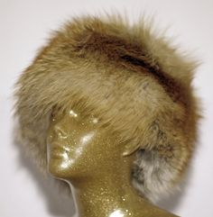 Wild Red Fox Fur Winter Hat by TeddyGdesign on Etsy