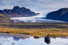 Glaciers! Need to see them before they're gone... Skaftafellsjokull, Skaftafell National Park, Iceland