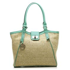 Leslie Straw Tote    Would love this for summer.