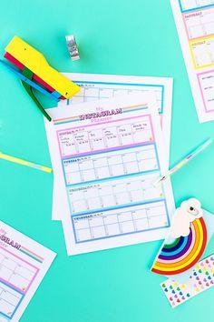 Free Printable Instagram Planner Free Printable Cards, Printable Planner, Free Printables, Instagram Planer, Bulletins, Free Instagram, Free Coloring Pages, Free Prints, Free Calendars