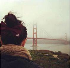 Golden Gate Bridge loves Alpha Phi!