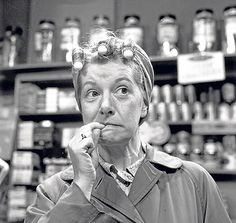 Hilda Ogden - Coronation Street  omg I loved their story lines lol
