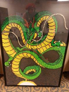 Rock the Dragon! - Shenron the God Dragon One of our set pieces from MechaCon 2015! We love Dragonball Z, and spent countless hours creating this piece for MechaCon! He took around 28 hours or so to make, and stands over 3ft. tall! We take...