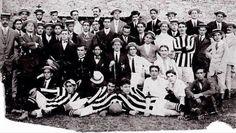Primeiro time do Botafogo - 1904.