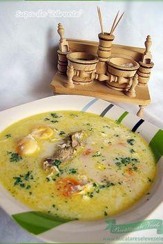 Supa de Zdrente- Supa de oua- Tojas leves Egg Recipes, Soup Recipes, Cooking Recipes, Hungarian Recipes, Russian Recipes, Romanian Recipes, Romania Food, Oatmeal Diet, European Dishes