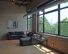 Vaughn's loft apartment