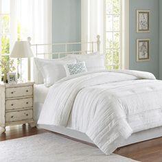 Madison Park Celeste 5 Piece Comforter Set & Reviews | Wayfair