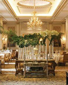 Paris Luxury Hotels | Four Seasons Hotel George V Paris Flowers by Jeff Letham....genius