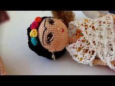 Como tejer muñeca Frida amigurumi By Petus Ochoa OCTAVA PARTE - YouTube