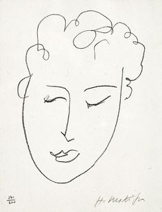 This is an original lithograph hand-signed by Henri Matisse, one of the most famous lithograph artists.