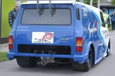 Ford transit Supervan 2. Rear shot, quite rare...