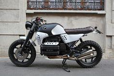 "Cafe Racer Pasión — BMW K100 Street Tracker ""Sentinel"" by Basic..."