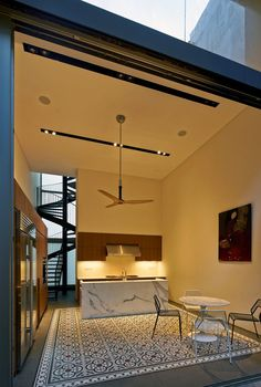 Renovated shophouse into modern family home in Singapore