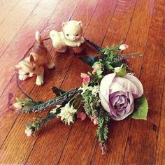 Handmade boho flower crown floral head piece. by thepeachpolkadot #festivalfashion #bohowedding #floralcrown Head Piece, Floral Crown, Festival Fashion, Boho Wedding, Floral Wreath, Wreaths, Trending Outfits, Unique Jewelry, Handmade Gifts