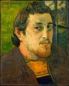 Gauguin autorretrato