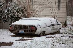 Abandoned Ben-Dera Ford...Lost Concept Car