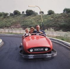 vintage disneyland ~ Autopia, man I loved this ride--what kid gets to 'drive'!?!