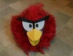 Angry Birds Easter Bonnet, thats the plan then ; Easter Ideas, Easter Crafts, Crafts For Kids, Red Angry Bird, Angry Birds, Easter Bonnets For Boys, Box Houses, Projects To Try, April 21