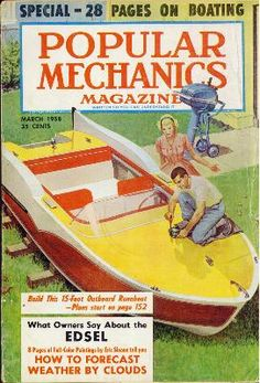 "The Glen-L ""Swish"" is one of our finned designs that were stylish in the The Swish adorned the cover of Popular Mechanics in You can build this boat! Detroit, Popular Mechanics, Marketing Virtual, Glen L, Trailer Plans, Speed Boats, Boat Plans, Comic Book Covers, Boat Building"
