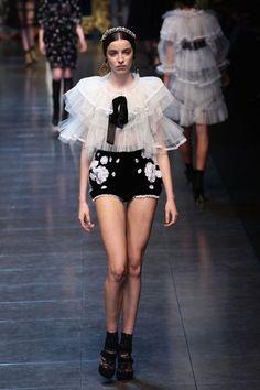 Dolce & Gabanna, 2013 Collection  Milan Fashion Week.