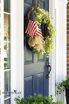 Patriotic Porch Deco