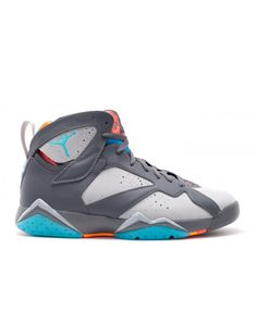 Air Jordan 7 Retro Barcelona Days Drk Gry Trqs Bl Wlf Gry Ttl Or 304775 016