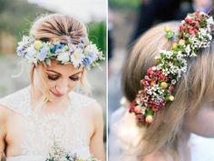 Idee per indossare fiori nei capelli