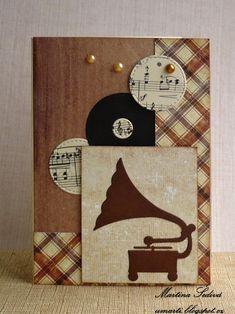 card vintage music