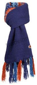 Salewa Jaquard Knit Scarf Deep Blue Kids $17.84