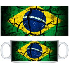 Estampa para caneca Brasil 000435